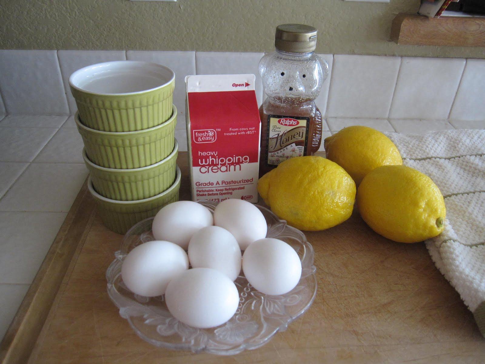 Honey Lemon Pots De Creme | Laugh and Cook